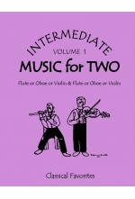 Intermediate Music for Two Volume 1 Flute or Oboe or Violin & Flute or Oboe or Violin, 47501FS