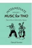 Intermediate Music for Two Volume 1 Flute or Oboe or Violin & Cello or Bassoon 47001