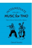 Intermediate Music for Two Volume 2 Flute or Oboe or Violin & Cello or Bassoon, 47002
