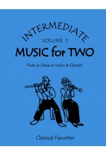 Intermediate Music for Two Volume 1 Flute or Oboe or Violin & Clarinet, 47201FS