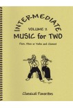 Intermediate Music for Two Volume 2 Flute or Oboe or Violin & Clarinet, 47202