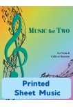 Music for Two - Viola & Cello or Bassoon - Choose a Volume! Printed Sheet Music