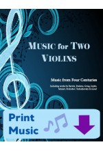 Music for Two Violins - Choose a Volume! Print