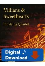 Villains & Sweethearts - for String Quartet - 25003 Digital Download