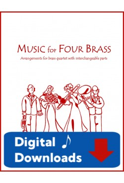Music for Four Brass - Christmas - Create Your Own Set of Parts - Digital Download