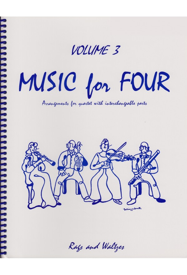 Music For Four Volume 3 Keyboard Or Guitar With Chord Symbols 70350