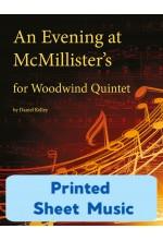 An Evening at McMillister's - Woodwind Quintet 25001 - Printed Sheet Music