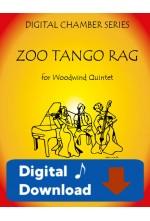 Zoo Tango Rag - Woodwind Quintet by Shelley Rink 25006DD Digital Download