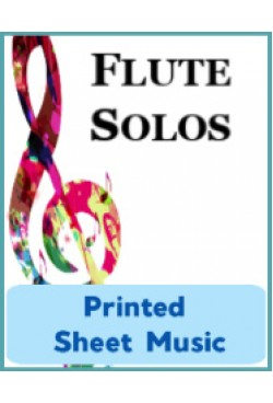 Flute & Piccolo - Solo Instrument & Keyboard - Choose a Title! Printed Sheet Music