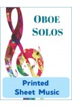 Oboe & English Horn - Solo Instrument & Keyboard - Choose a Title! Printed Sheet Music