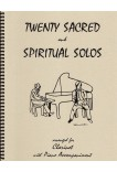 Twenty Sacred & Spiritual Solos Clarinet in Bb and Piano 40012
