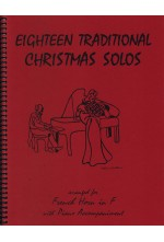 Eighteen Traditional Christmas Solos French Horn 40014