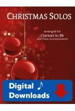 Christmas Solos Clarinet & Piano - Choose a Set! 40016 Digital Download