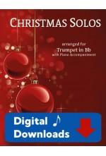 Christmas Solos Trumpet & Piano - Choose a Set! 40017 Digital Download