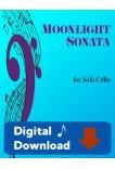 Moonlight Sonata for Solo Cello - 40059 Digital Download
