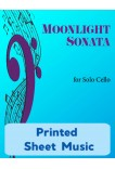 Moonlight Sonata for Solo Cello - 40059 Printed Sheet Music