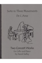 Two Concert Works for Cello and Piano 40051FS