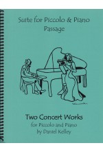 Two Concert Works (Passage & Suite) for Piccolo and Piano 40054
