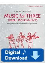 Music for Three Treble Instruments - Christmas Collection No. 2 58052DD